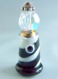 Light House w/Moveable Beacon Glass & Metal Button