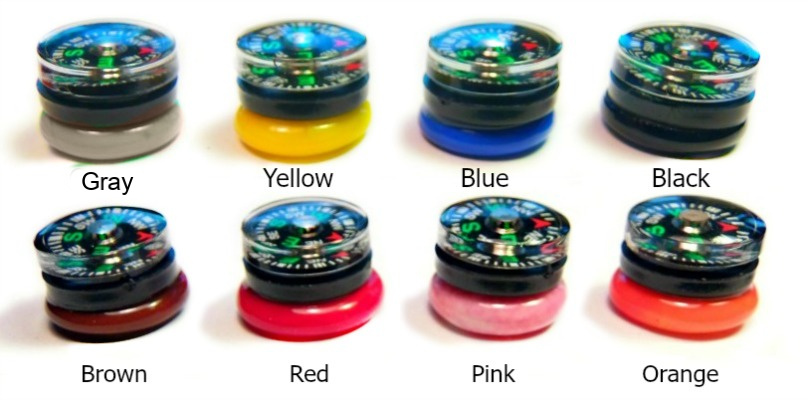 Compass 8 Colors Type