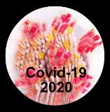 COVID-19 Virus 2020 Commemorative PW Button
